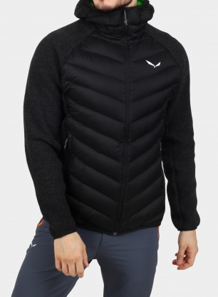 Kurtka Salewa Fanes Sarner/DWN Hybrid Jacket - black out