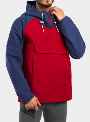 Kurtka The North Face Class V Fanorak - rococco red
