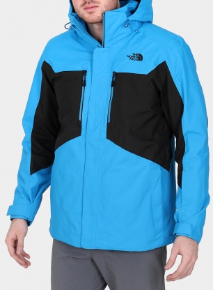 Kurtka 3w1 The North Face Clement Triclimate Jacket - hyper blue/black