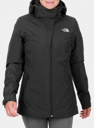 Kurtka The North Face damska Inlux Triclimate - black htr/tnf black