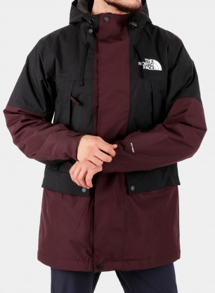 Kurtka narciarska The North Face Goldmill Parka - brown/black