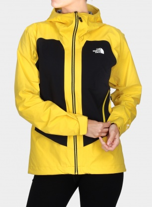 Kurtka damska The North Face Impendor C-Knit Jacket - yellow/black