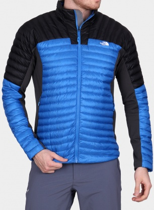 Kurtka The North Face Impendor Down Hybrid Jacket - bomber blue/black