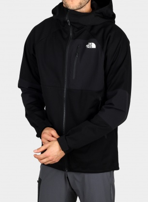 Softshell The North Face Impendor Windwall Hoodie - blk
