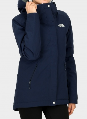 Kurtka damska The North Face Inlux Insulated Jacket - urban navy
