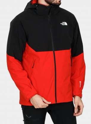 Kurtka The North Face Insulated Apex Flex GTX 2.0 Jacket - red/black