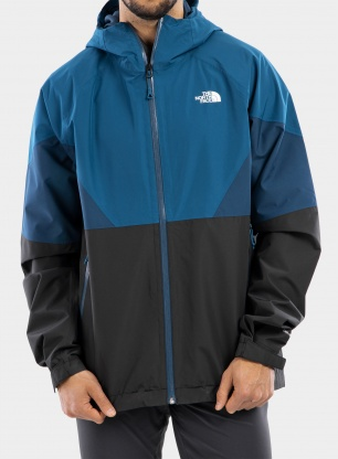 Kurtka The North Face Lightning Jacket - grey/moroccan blue