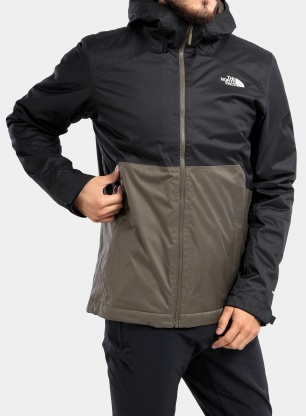 Kurtka The North Face Millerton Insulated Jacket - green/black