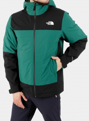 Kurtka 3w1 The North Face Mountain Light FL - evergreen
