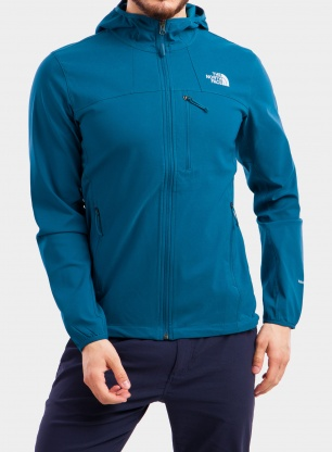 Kurtka The North Face Nimble Hoodie - moroccan blue