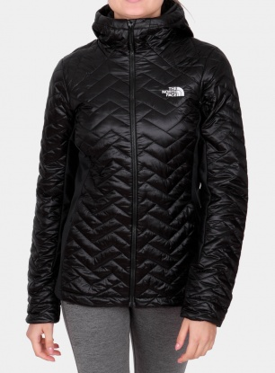 Damska kurtka ocieplana The North Face PrimaLoft Hybrid Hoody - black