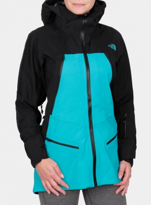 Kurtka membranowa damska The North Face Purist Jacket - green/black