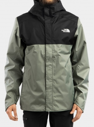 Kurtka The North Face Quest Zip-In Jacket - green/black