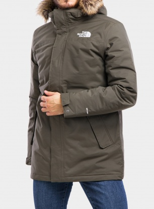 Kurtka The North Face Recycled Zaneck Jacket - taupe green