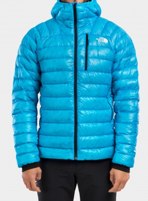 Kurtka The North Face Summit Down Hoodie - meridian blue