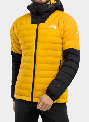 Kurtka The North Face Summit L3 50/50 Down Hoodie - s. gold