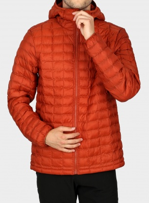 Kurtka zimowa The North Face ThermoBall Eco Hoodie - picante red matte