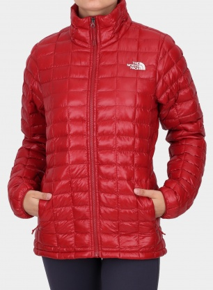 Kurtka damska The North Face Thermoball Eco Jacket - cardinal red
