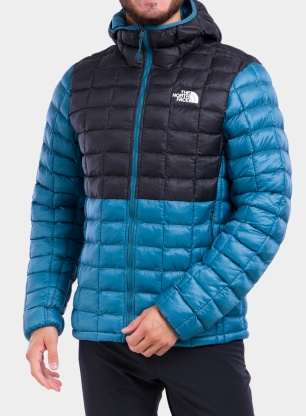 Kurtka The North Face ThermoBall Super Hoodie - blue/tnf blac