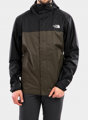 Kurtka The North Face Venture Jacket - black/green