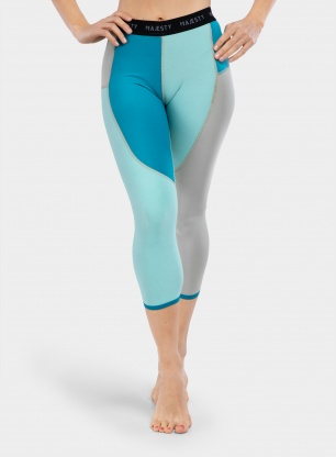 Legginsy damskie Majesty Surface Beauty Pants - blue