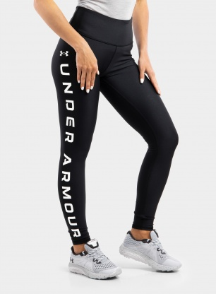 Legginsy damskie Under Armour HG Armour Branded Leg NS - blk/white