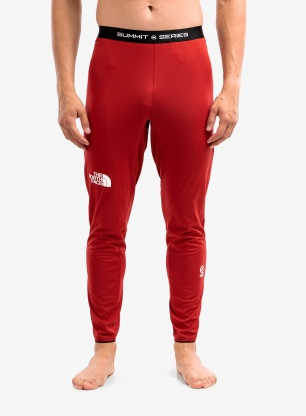 Legginsy termoaktywne The North Face Summit AMK L1 - c.red
