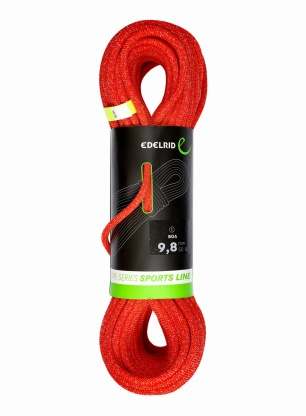 Lina dynamiczna Edelrid Boa 9,8mm 50m - red