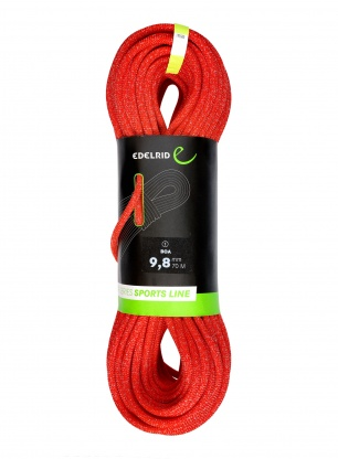 Lina dynamiczna Edelrid Boa 9,8mm 70m - red
