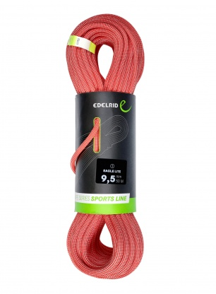 Lina wspinaczkowa Edelrid Eagle Lite 9,5 mm 50m - red