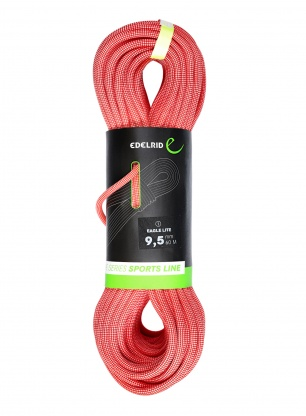 Lina wspinaczkowa Edelrid Eagle Lite 9,5 mm 60m - red