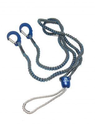 Lonża do czekanów Blue Ice Hydra Leash - blue
