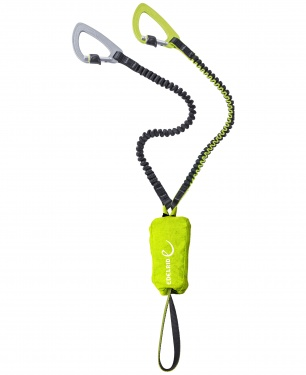 Lonża via ferrata Edelrid Cable Kit Ultralite 5.0 - oasis