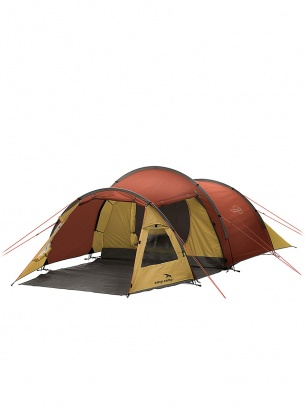 Namiot 3-osobowy Easy Camp Spirit 300 - gold red