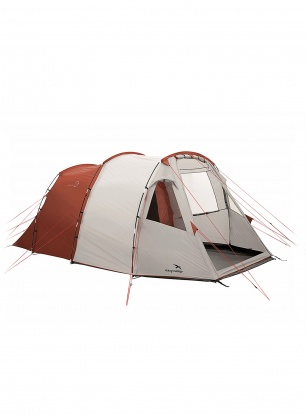 Namiot 5-osobowy Easy Camp Huntsville 500 - white/red