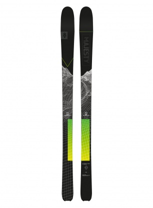 Narty Majesty Superscout Carbon - black green