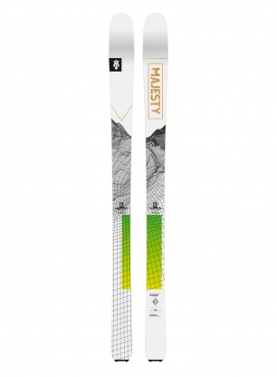 Narty Majesty Superscout - white/green
