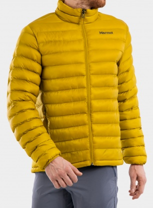 Ocieplana kurtka Marmot Solus Featherless Jacket - golden palm