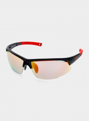 Okulary biegowe Goggle Falcon C - black/red - POL 1-3 red