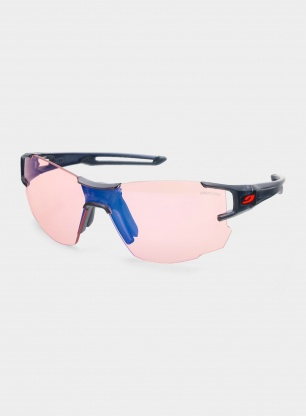 Okulary damskie Julbo Aerolite - Reactiv 1-3 - black/red
