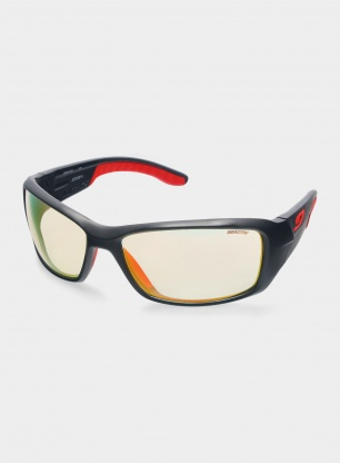 Okulary do biegania Julbo Run - Reactiv 1-3 - matt black/red