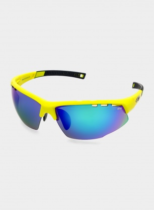 Okulary Goggle Falcon Extreme - neon blk/blue - POL3 green