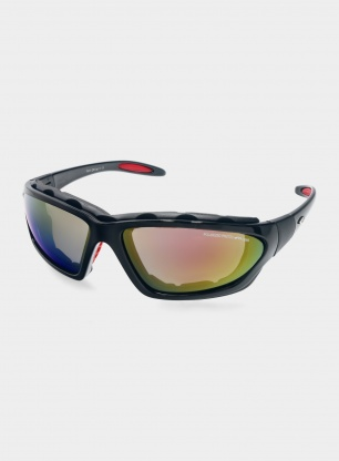 Okulary Goggle Mese P - POL 3 red - black/red