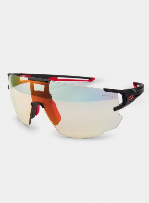 Okulary Julbo Aerospeed - Reactiv 1-3 - black/red