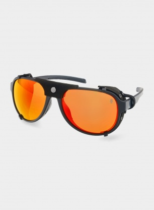 Okulary Majesty Apex 2.0 - black/polarised red ruby lens