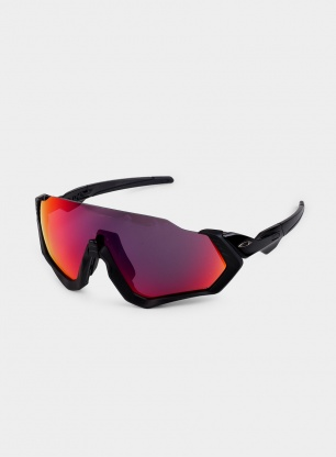 Okulary Oakley Flight Jacket CAT 2 - polished black/prizm road
