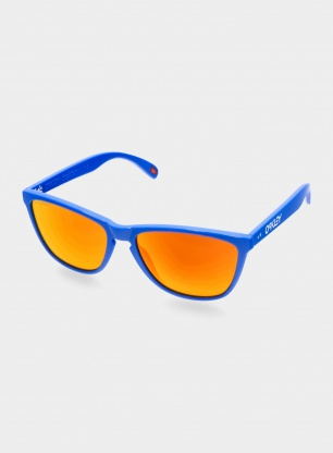 Okulary Oakley Frogskins 35th Anniversary - primary blue/prizm ruby
