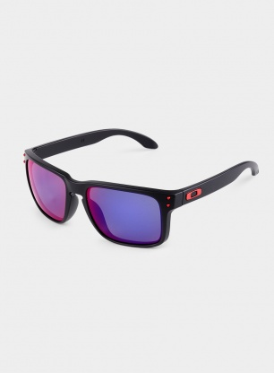 Okulary Oakley Holbrook - matte black/positive red iridium