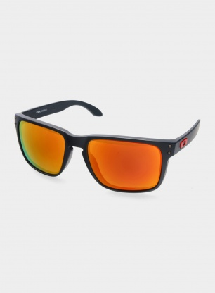 Okulary Oakley Holbrook XL - matte black/prizm ruby