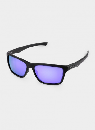 Okulary Oakley Holston - matte black/violet iridium